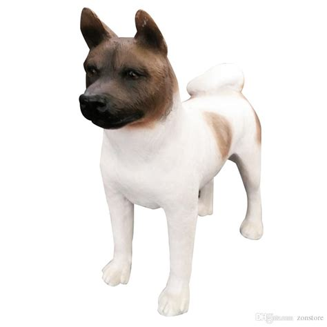 akita puppy cost 2018 japanese akita figurine crafts resin statue carved figurine with