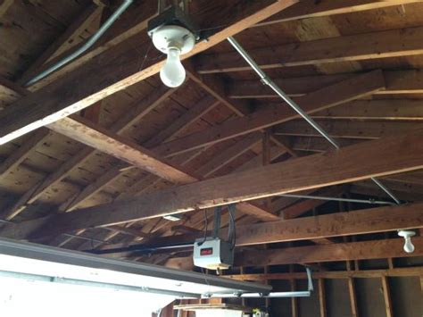 insulation for garage ceiling garage ceiling insulation doityourself community forums