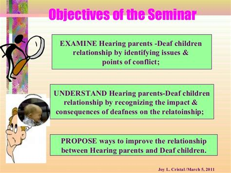 how to a deaf how to relate with deaf children