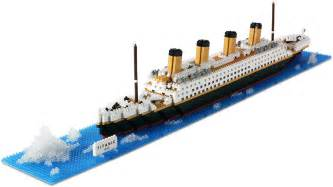 Blue And White Kitchen Accessories - nanoblock titanic