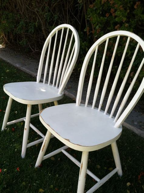 white shabby chic chairs set of 2 vintage shabby chic white chairs distressed