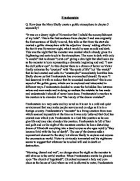 analysis of frankenstein essay college essays college application essays frankenstein