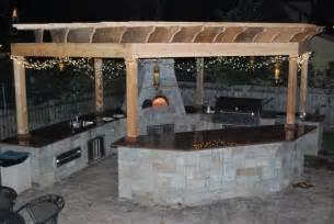 Custom Fireplace Patio Bbq by Outdoor Bbq Kitchens Amp Cabana Pergolas Patio Austin