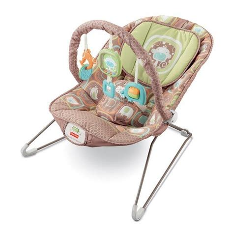 baby swings burlington comfy time bouncer 153 cocoa sorbet from burlington coat
