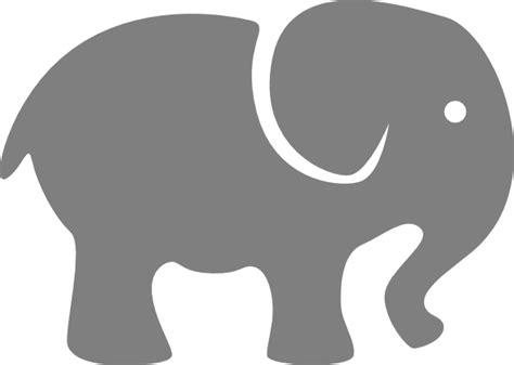 printable elephant art pink elephant clip art at clker com vector clip art