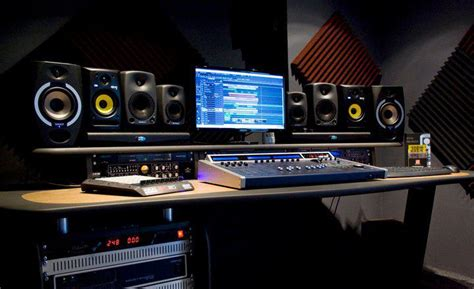 home recording studio equipment matter