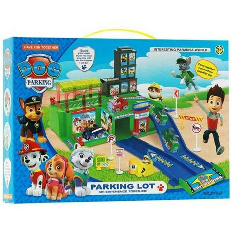 Mainan Anak Paw Patrol Zy 596 Parking Lot Play Set Marsha 1 toko mainan jual mainan mainan anak