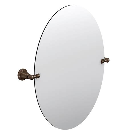 moen bathroom mirrors moen bradshaw pivoting mirror oil rubbed bronze the