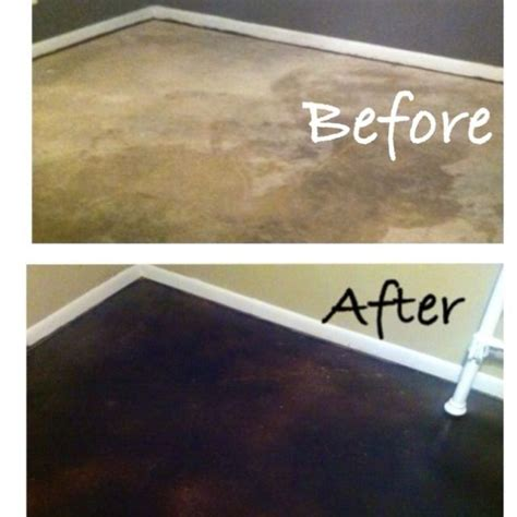 8 best Before & After Concrete Staining images on