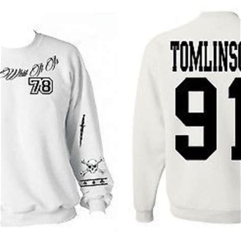 louis tomlinson tattoo sweater 5sos 5 options sweat sweater from urbandressed on
