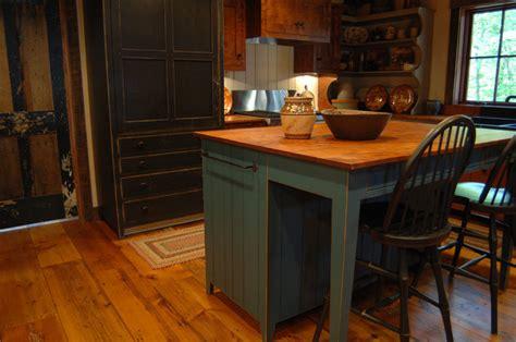 primitive kitchen island central kentucky log cabin primitive kitchen eclectic