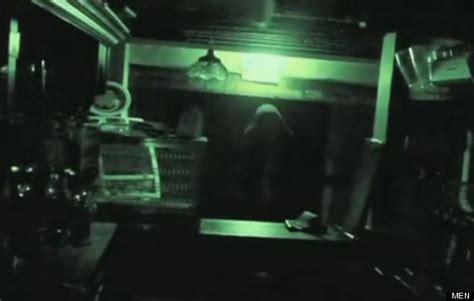 Cctv Bolpoin ghost on cctv in 760 year bolton pub ye olde