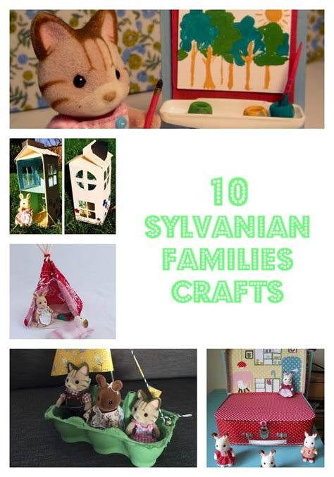 Britbox On Tv 10 sylvanian families crafts the gingerbread house co uk