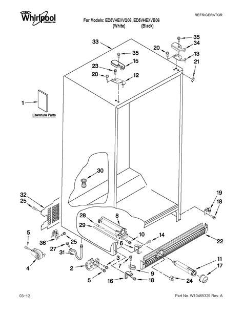 wiring diagram whirlpool side side refrigerator wiring