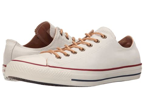Converse All Peached Ox converse chuck 174 all 174 peached canvas ox in brown lyst