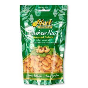 Nut Walker Roasted Salted Cashews nut walker roasted salted cashews 2 5 ounces co