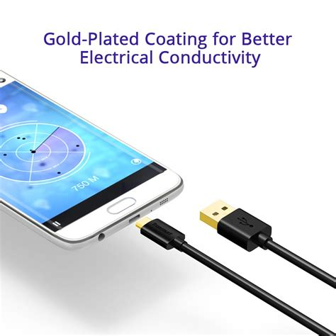 Vinsic 2 Pack 1m Hi Speed Usb Type C Cable Fast Charging Terlaris tronsmart mupp8 usb 2 0 micro usb cable 6 pack gold connector 11street malaysia cables