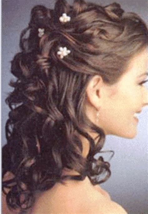 Half Pin Up Hairstyles by Wedding Hairstyles Half Up Half With Tiara