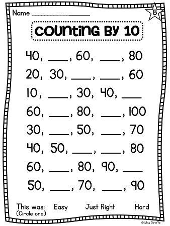 pinterest count layout ideas of counting by 10 worksheets with layout