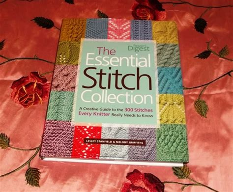 knit stitch dictionary if you only buy one stitch dictionary yellow cat
