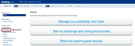 booking extranet mobile basics sms notifications of reservations cancellations