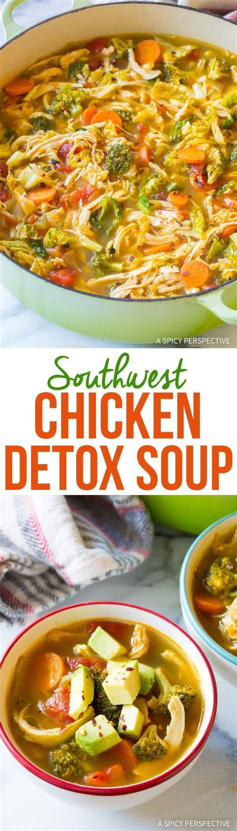 Gluten Free Detox Soup by 25 Great Ideas About Healthy Chicken Recipes On