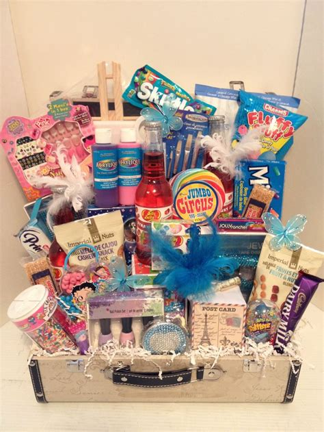 parish theme birthday girl gift basket gift ideas