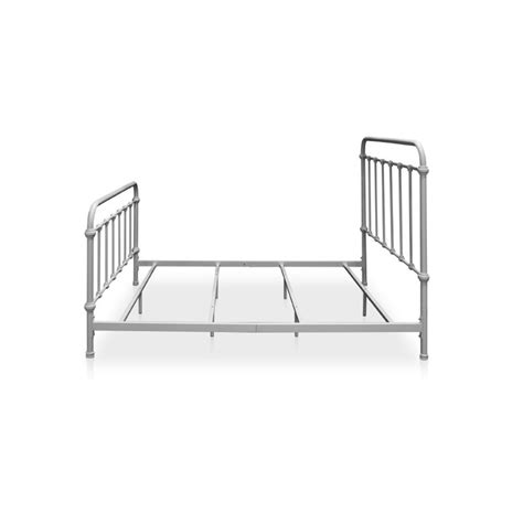 spindle bed twin furniture of america celinda twin metal spindle bed in