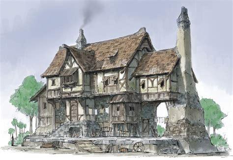Age Home Design Concepts European Middle Ages House Hledat Googlem Krysar