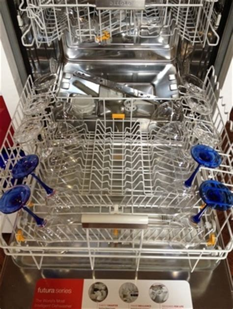 if you wash riedel wine glasses in a miele dishwasher