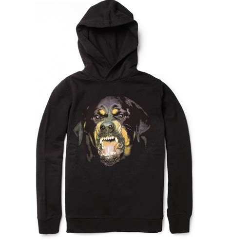 rottweiler sweatshirt splash of the day p x givenchy rottweiler