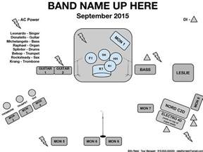 band stage plot template how to create a stage plot and input list needforreed
