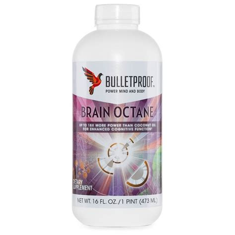 Bulletproof Brain Octane Oil   Ketosource