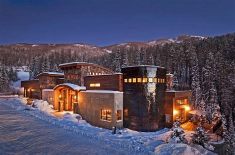 luxury vacation home on slopes in steamboat springs