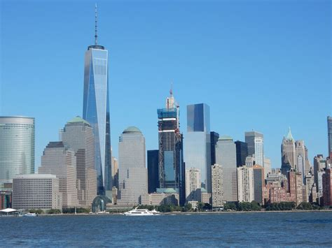 three to the world photos show scale of topped out three world trade center skyrisecities