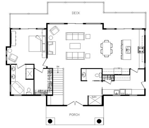 modern house with floor plan modern open floor house plans home design ideas how to
