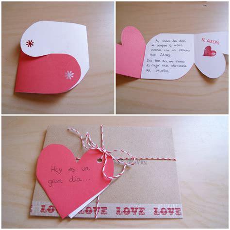 imagenes originales grandes una tarjeta para san valentin diy mi boda diy