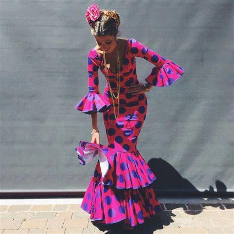 flamenca dress for the feria de abril in seville spain