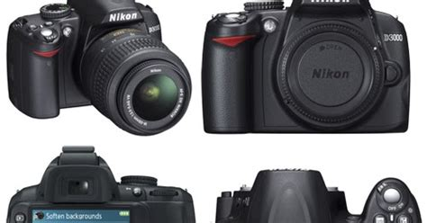 Kamera Nikon D3000 Baru spesifikasi harga baru nikon d3000 lengkap review harga gadget hp laptop kamera