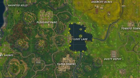 fortnite locations new fortnite battle royale map shows the new locations