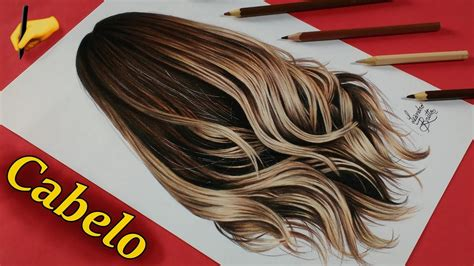 desenho cabelo como desenhar cabelo realista l 225 pis de cor