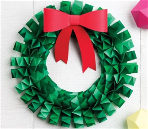 wreath paper crafts origami