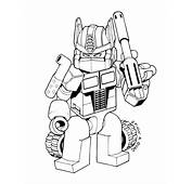 Print &amp Download  Lego Transformers Coloring Pages