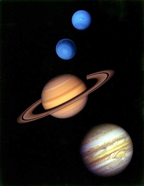 Outer Iner difference between inner and outer planets
