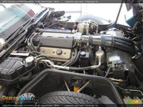 Chevrolet Lt1 Engine 1992 Chevrolet Corvette Convertible 5 7 Liter Ohv 16 Valve