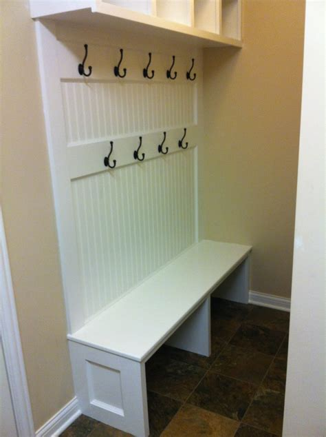 mudroom storage bench plans the britton house mudroom bench