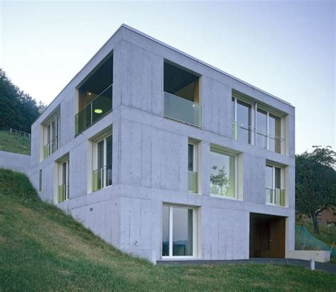 modern concrete homes home garden design