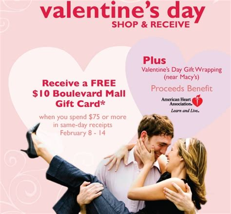 Boulevard Gift Card - wny deals and to dos boulevard mall spend 75 at select stores receive a free 10