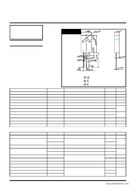 reemplazo transistor horizontal d5032 transistor c4834 datasheet 26 images reemplazo transistor horizontal c6090 28 images