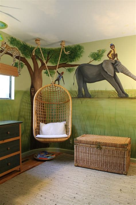 bedroom swings hung this swing in a weekend whimsical little tykes